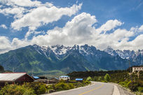 美丽的中国西部公路