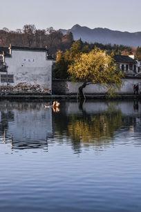 世界文化遗产地安徽宏村
