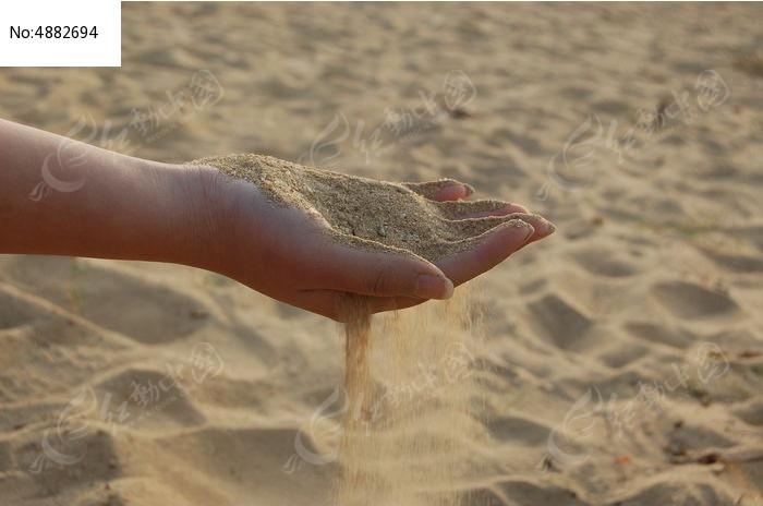 原创摄影图 自然风景 海洋沙滩 手中沙漏  请您分享: 红动网提供海洋
