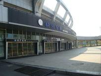 体育馆的一角