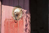 红门上的兽头门环