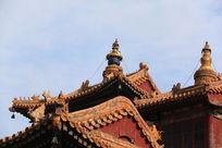 皇家古代建筑房檐