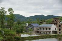 龙泉村农家景色