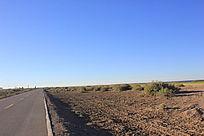 清晨的公路图片