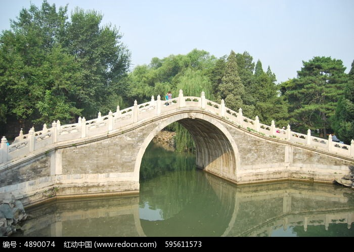 拱桥怎么画步骤