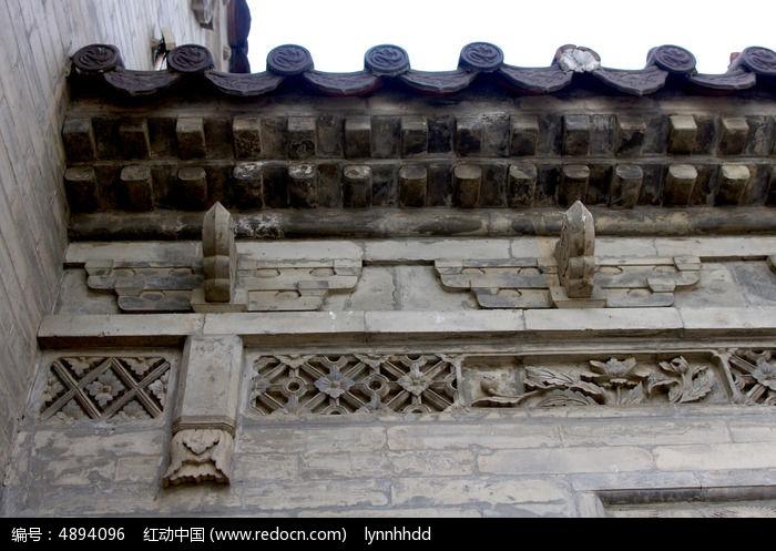 墙檐石雕东梁设计图片