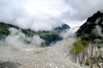 气势磅礴的冰川和冰山