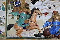 三国时期人物浮雕