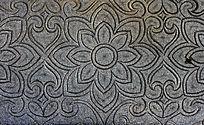 石刻装饰花纹背景