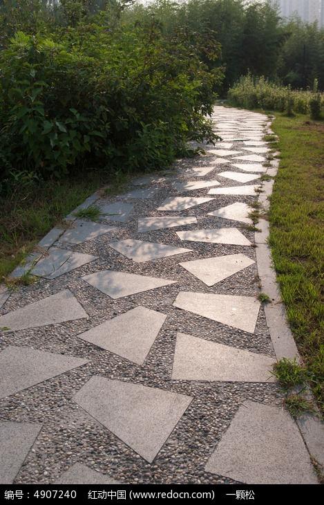大理石与石子小路图片,高清大图_道路交通素材