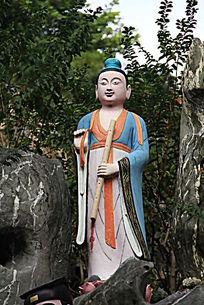 韩湘子人物雕塑