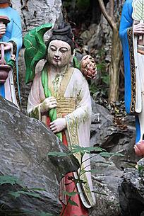 何仙姑人物雕塑