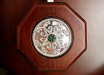 花纹金属宝石雕刻钟表浮雕装饰艺术