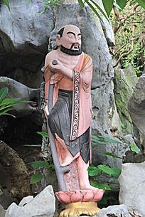 铁拐李人物雕塑