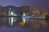 青岛的战舰