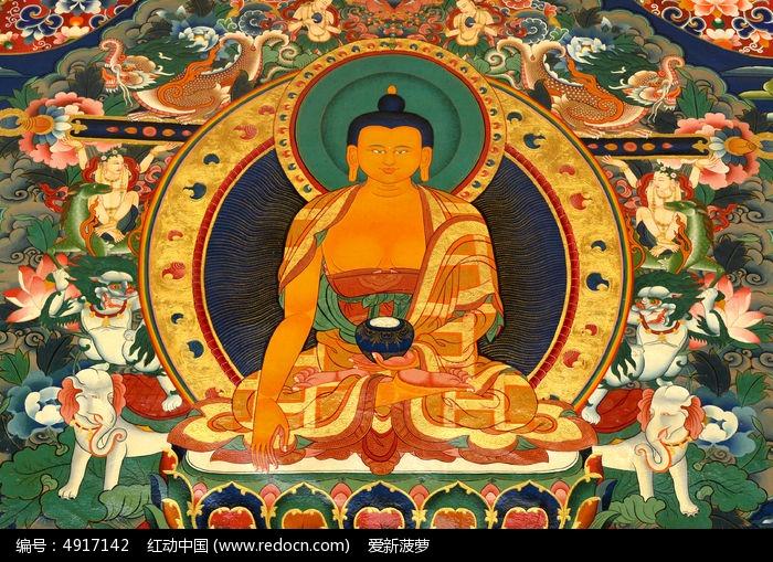 佛教��.d9�c9��i)�aj_精美的佛教壁画