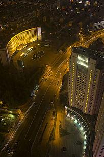 青岛交通夜景