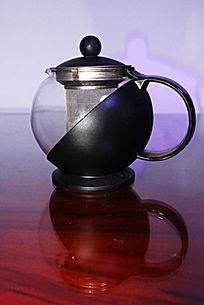球形塑料玻璃茶壶
