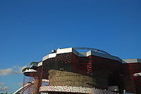 上海世博会瑞士馆建筑顶部