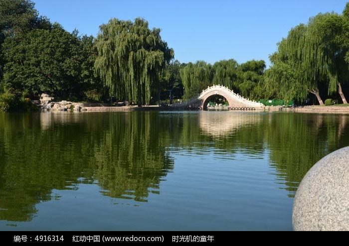 石桥图片,高清大图_园林景观素材