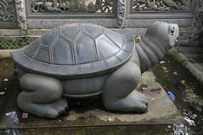 乌龟石雕作品