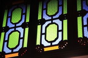 彩色玻璃窗户