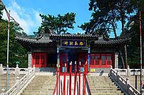 财神庙里的忠义财神殿