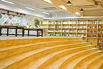 青岛如是书店的阶梯