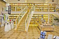 青岛如是书院的楼梯