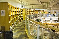 青岛如是书院的走廊