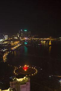 青岛五四广场夜景