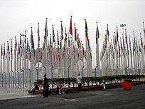 上海世博会万国旗阵