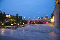 大理石地面广场