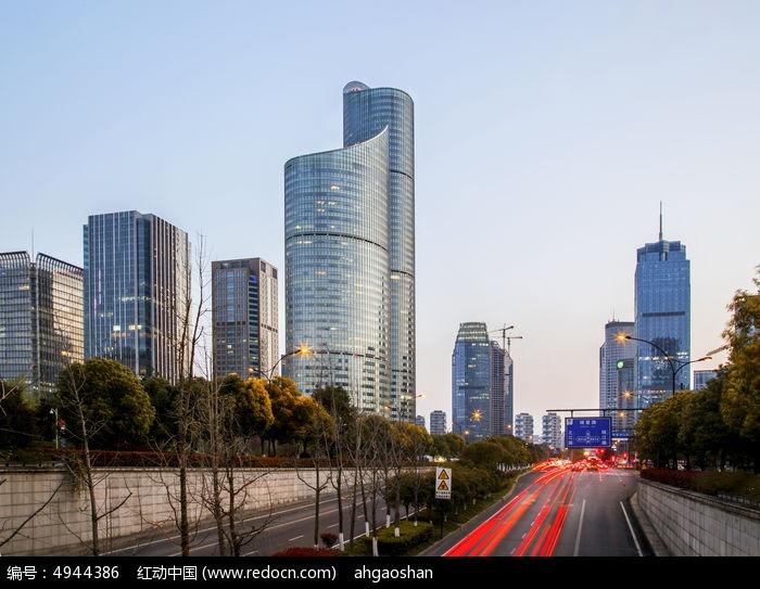 杭州钱江新城图片,高清大图_城市风光素材