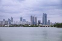 金鸡湖风景