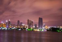 金鸡湖畔夜景
