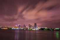 金鸡湖夜景风景