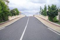 宽广的公路素材