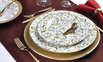 花纸瓷器餐具