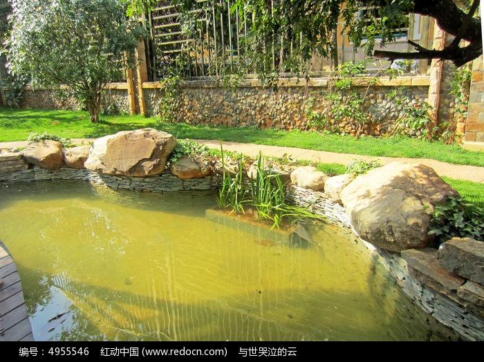 景观水池图片,高清大图_园林景观素材