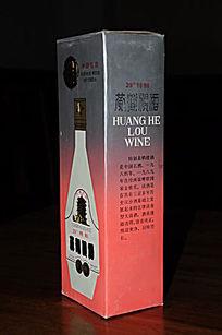 90年代39度特制黄鹤楼白酒十七大名酒包装盒45度角