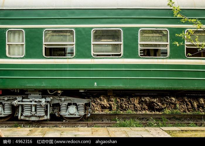 绿皮火车车厢图片,高清大图