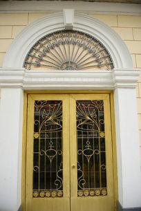 欧式雕花拱门