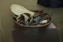 五十年代纳鞋编篮