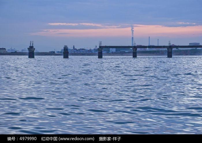 青岛海上风景