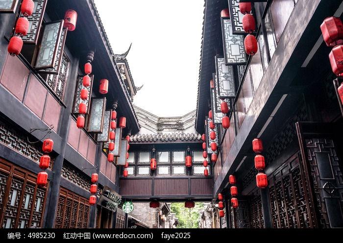 成都锦里 古建筑图片