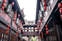 成都锦里 古建筑