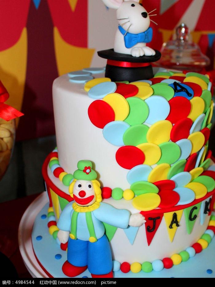 原创摄影图 餐饮美食 西餐美食 儿童生日蛋糕图片