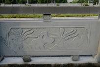 假山石桥体石刻浮雕