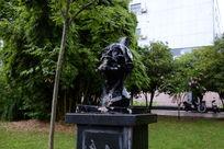 名人头部雕像